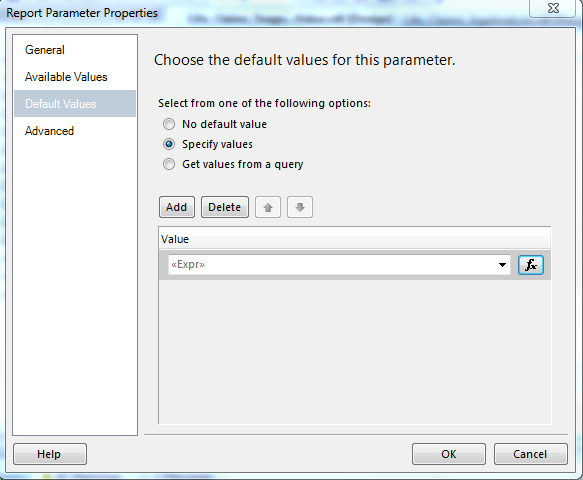 Pass Multi-Value Parameter to SSRS Report Using URL